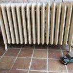 geplaatste gietijzeren radiator 108 b