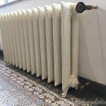 geplaatste gietijzeren radiator 113 c
