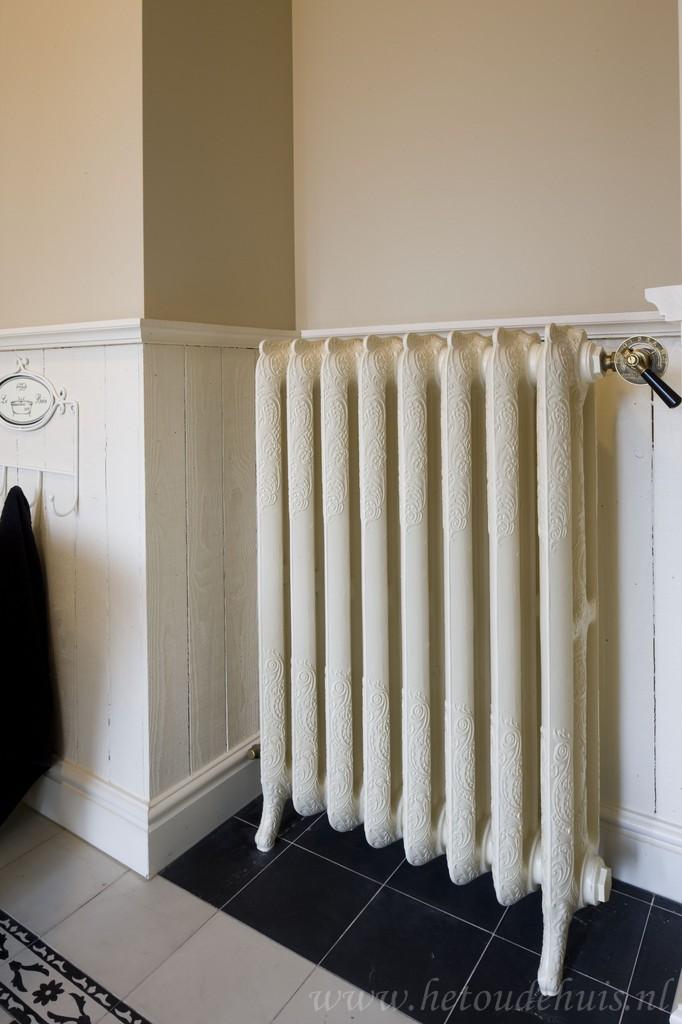 geplaatste gietijzeren radiator 18 a
