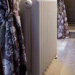 geplaatste gietijzeren radiator 22