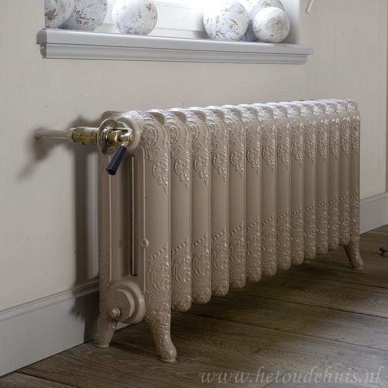 geplaatste gietijzeren radiator 31