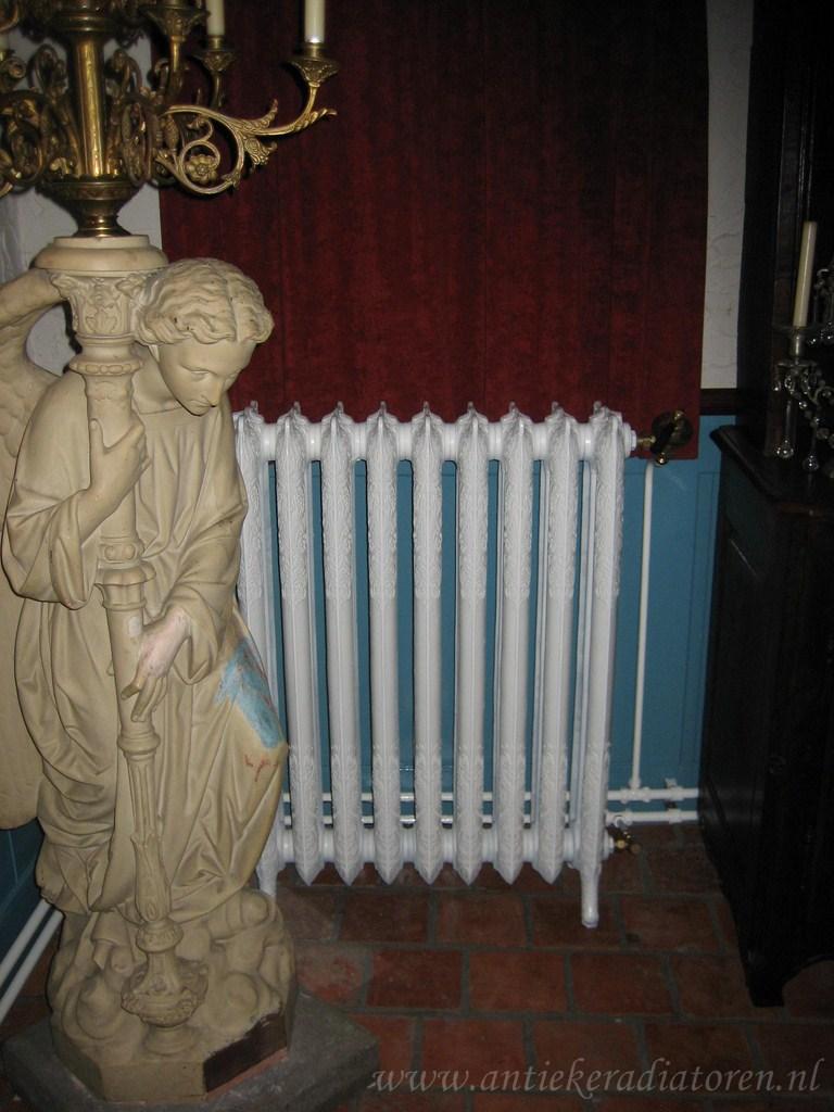 geplaatste gietijzeren radiator 42 a