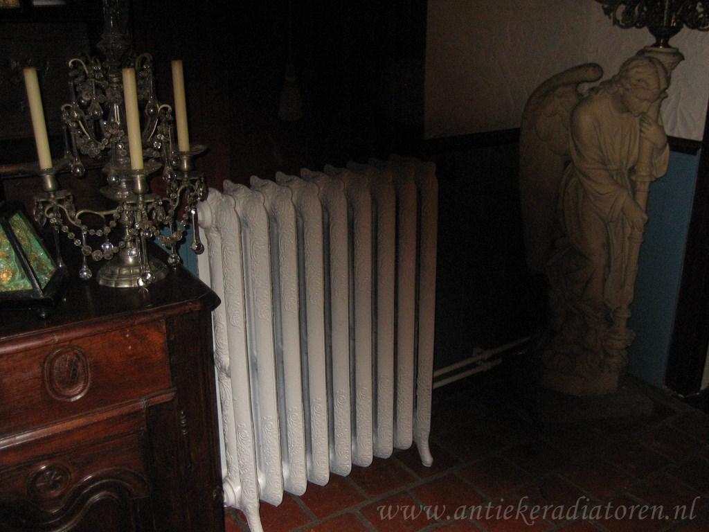 geplaatste gietijzeren radiator 42