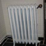 geplaatste gietijzeren radiator 45