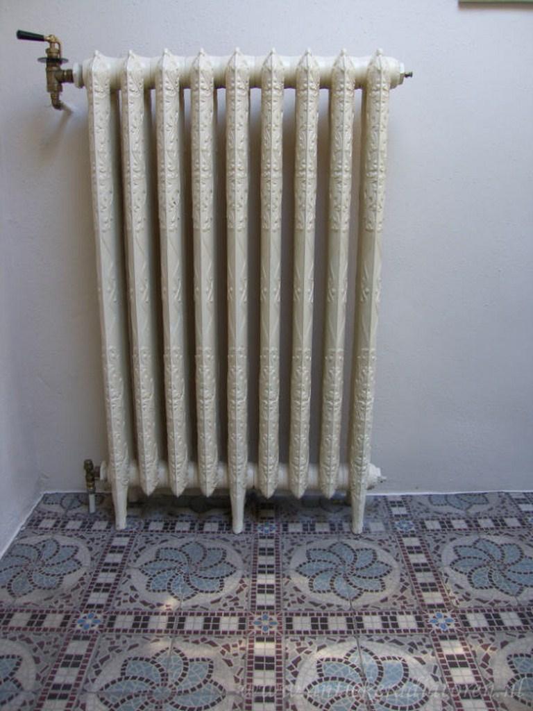 geplaatste gietijzeren radiator 51