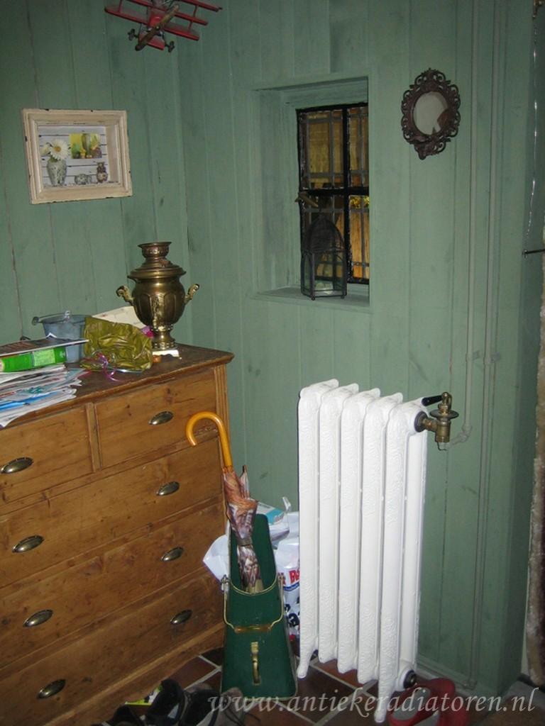 geplaatste gietijzeren radiator 56