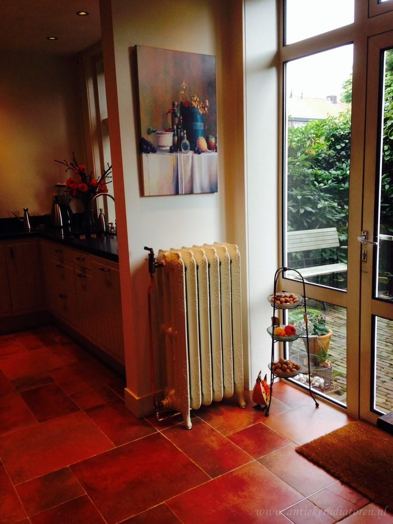 geplaatste gietijzeren radiator 64 a