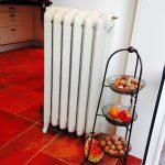 geplaatste gietijzeren radiator 64 b