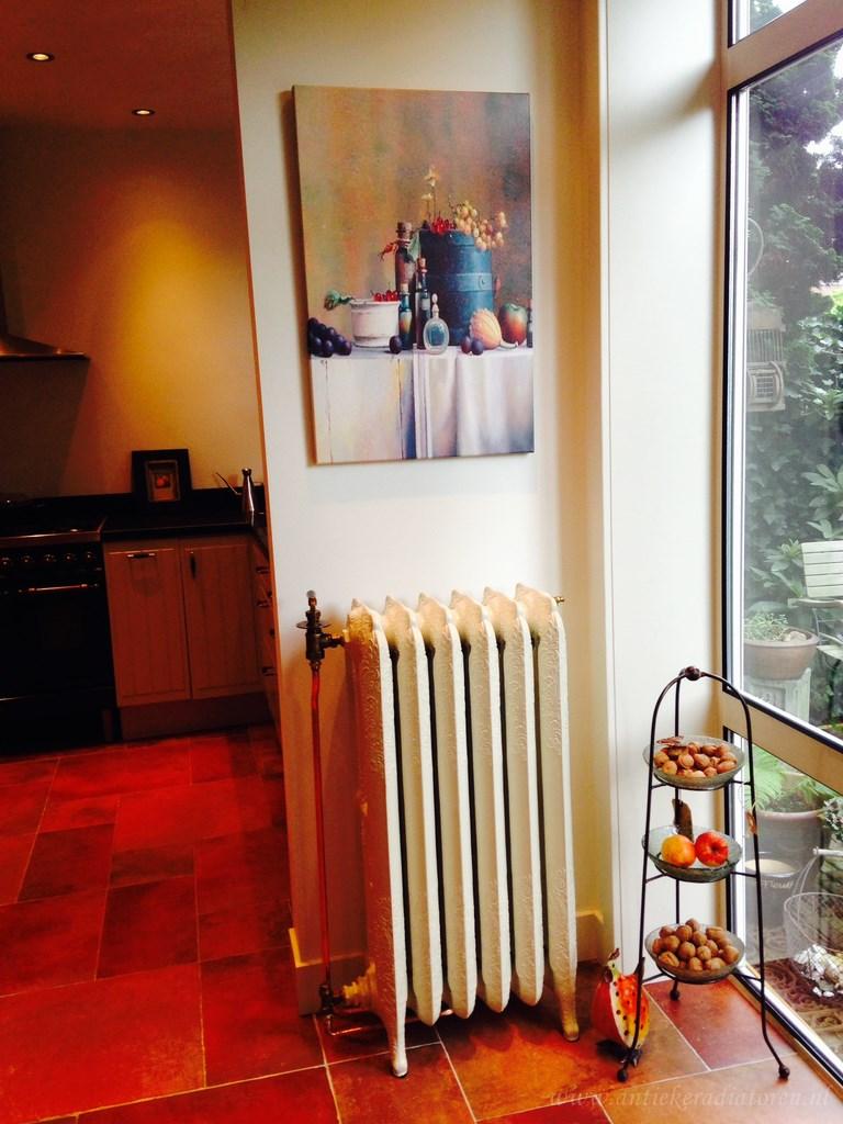 geplaatste gietijzeren radiator 64 c