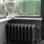geplaatste gietijzeren radiator 65 e