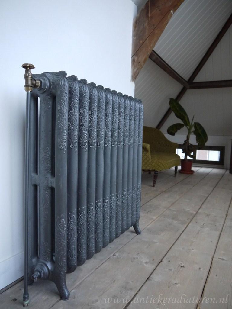 geplaatste gietijzeren radiator 8