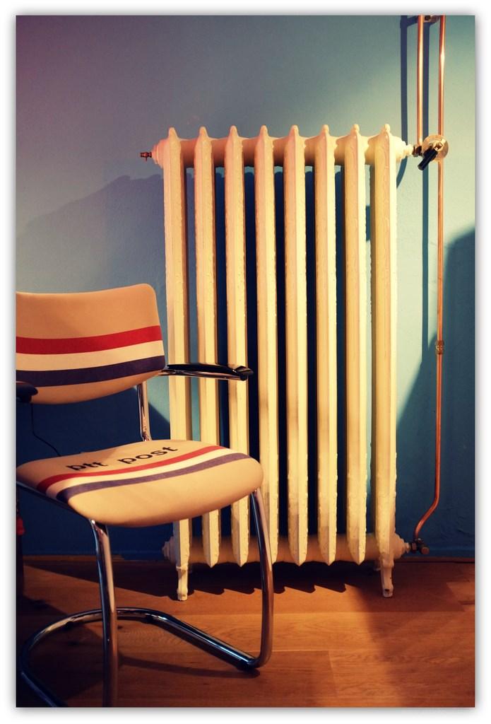geplaatste gietijzeren radiator 82 a