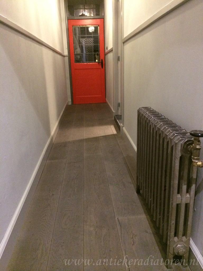 geplaatste gietijzeren radiator 84 a