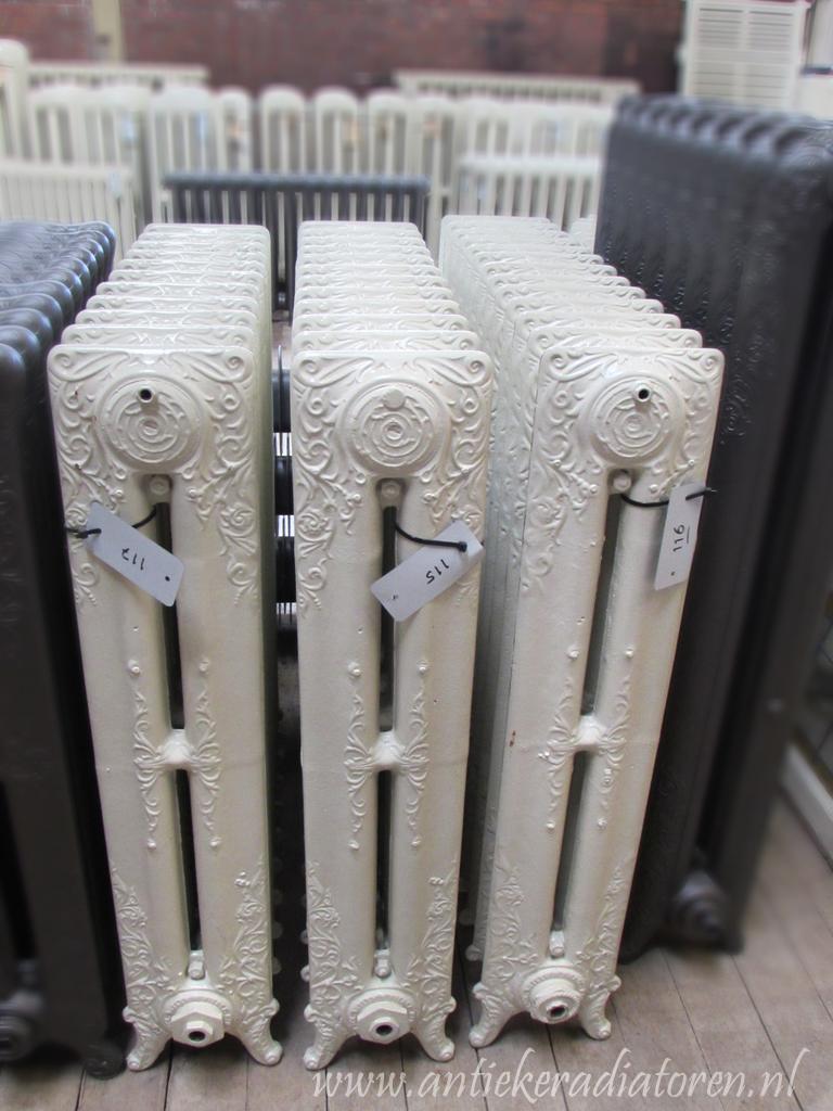 oude bewerkte radiator 115 116 117