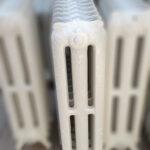 oude bewerkte radiator 130