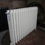 oude bewerkte radiator 145 b