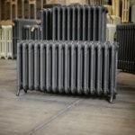 oude bewerkte radiator 17 a