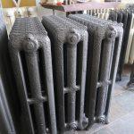 oude bewerkte radiator 195 c