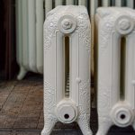 oude bewerkte radiator 209 a