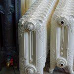 oude bewerkte radiator 213 c
