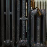 oude bewerkte radiator 233 a