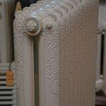 oude bewerkte radiator 236 b