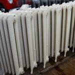 oude bewerkte radiator 237
