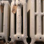 oude bewerkte radiator 24