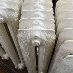 oude bewerkte radiator 243 b
