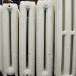 oude bewerkte radiator 246