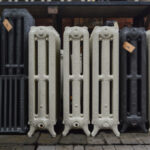 oude bewerkte radiator 270