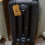 oude bewerkte radiator 48 a
