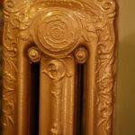 oude bewerkte radiator 81 c