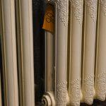 oude bewerkte radiator 86 e