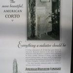 reclame american radiator company