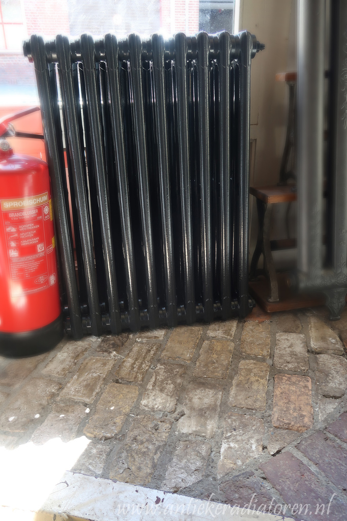 Ondiepe smalle spijl radiatoren