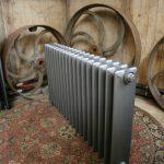 Gietijzeren vintage radiatoren