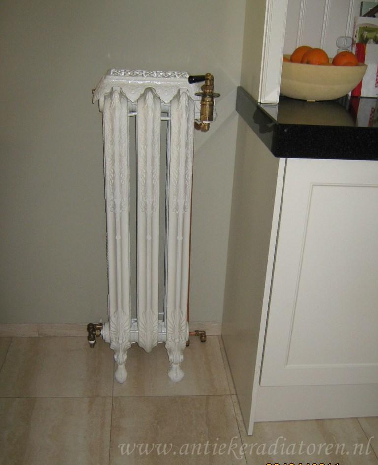 geplaatste gietijzeren radiator 110 a
