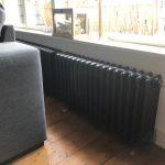 geplaatste gietijzeren radiator 114 b