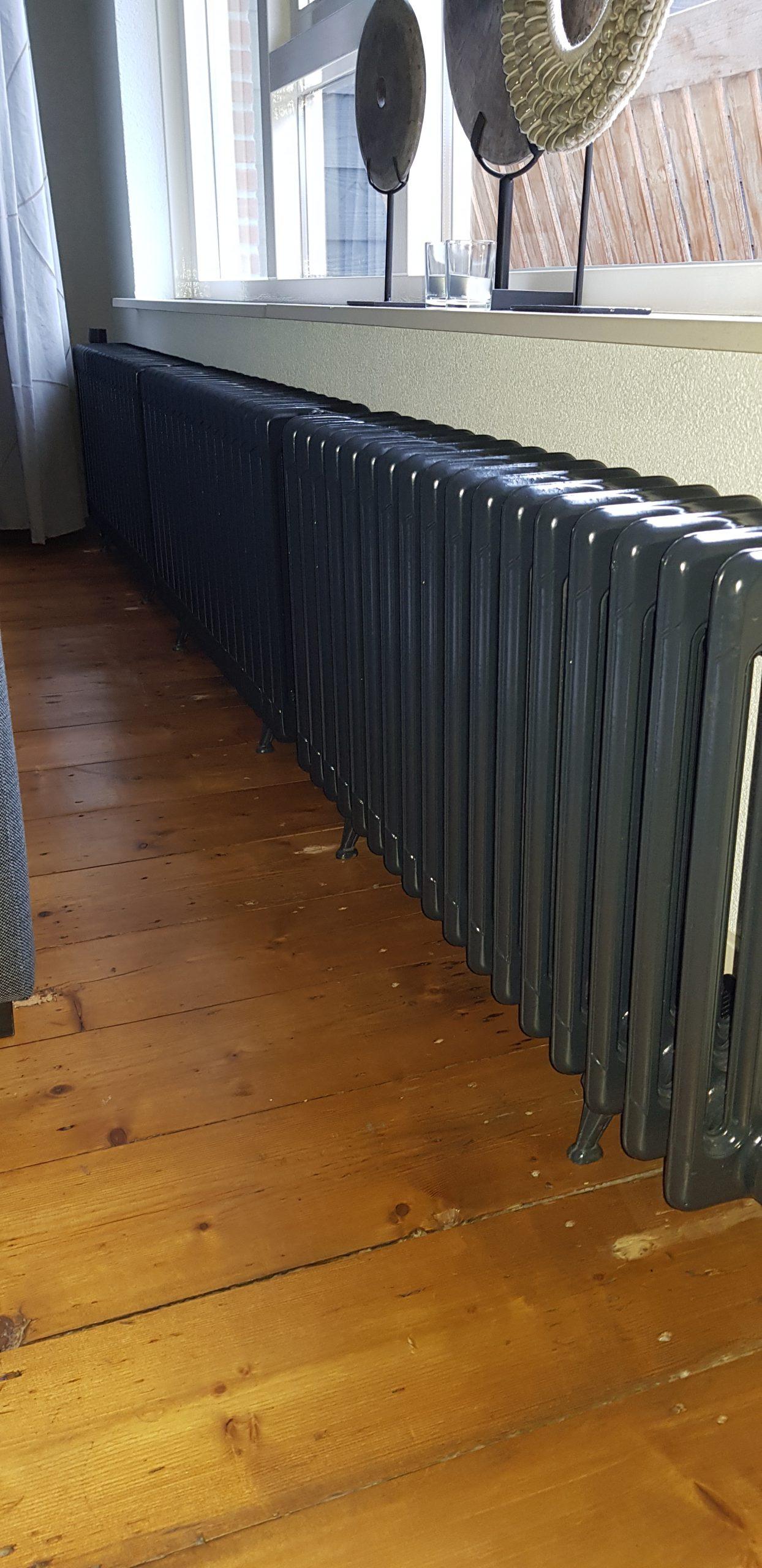 geplaatste gietijzeren radiator 114 c