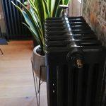 geplaatste gietijzeren radiator 115