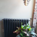 geplaatste gietijzeren radiator 115 c