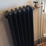 geplaatste gietijzeren radiator 115 d