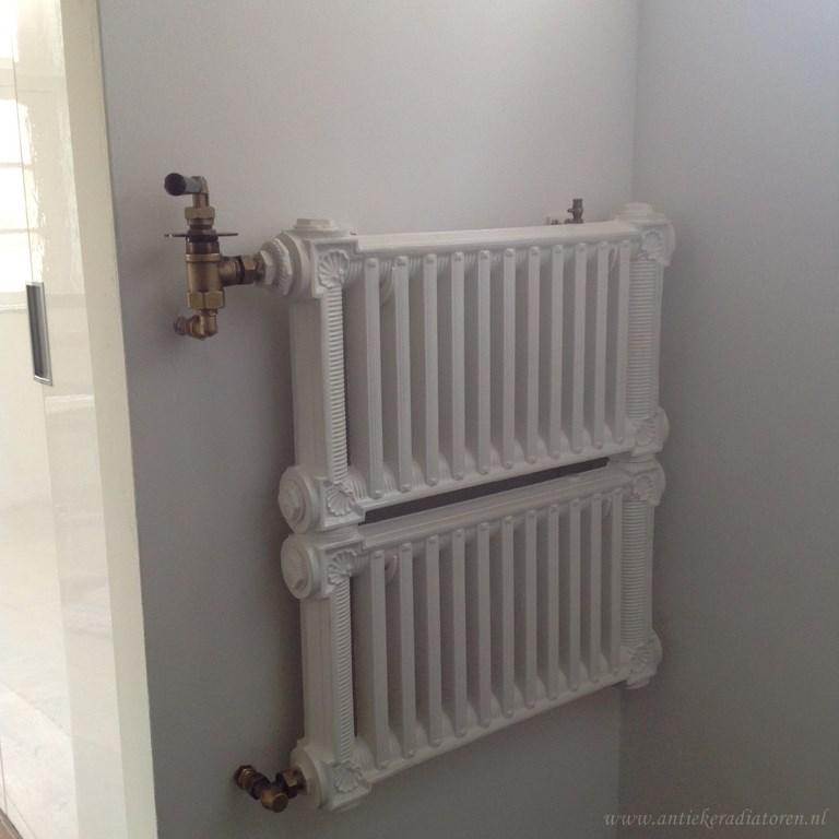 geplaatste gietijzeren radiator 117 a