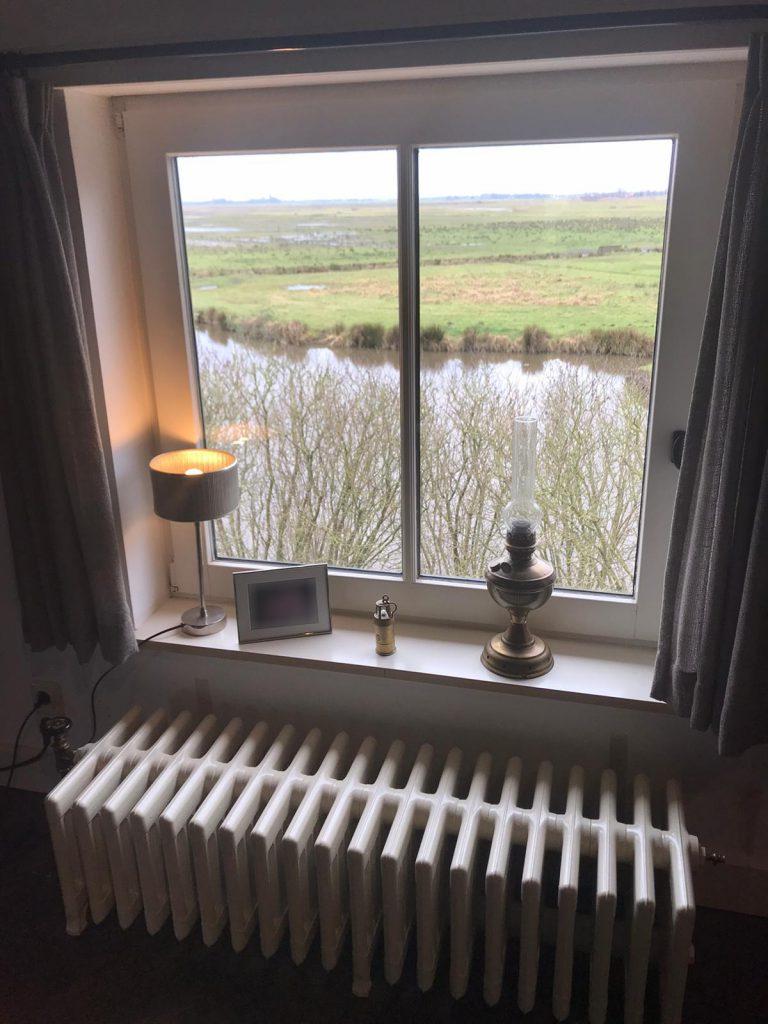 geplaatste gietijzeren radiator 119