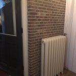 geplaatste gietijzeren radiator 119 a