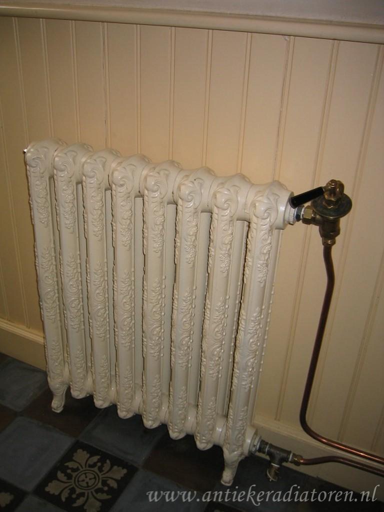 geplaatste gietijzeren radiator 4