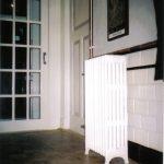 geplaatste gietijzeren radiator 10