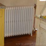 geplaatste gietijzeren radiator 11