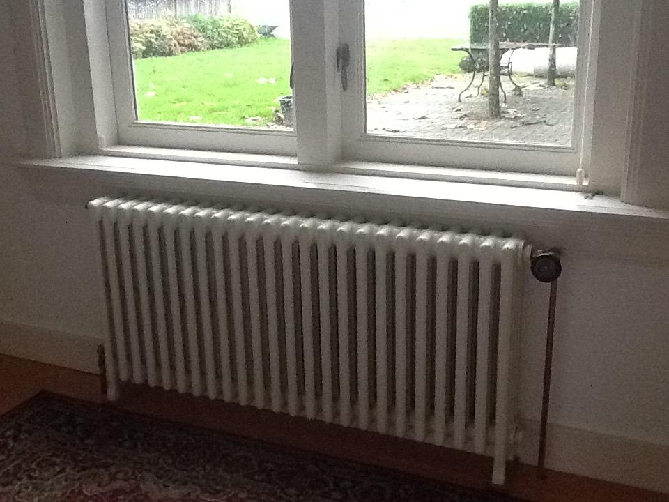 geplaatste gietijzeren radiator 126 a